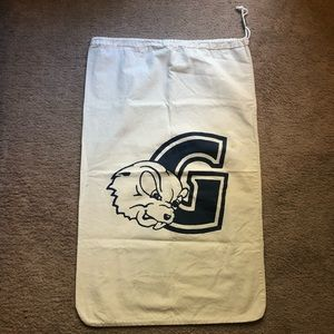 4/$25 ~ 2 Laundry Bags Goucher College Gopher Logo